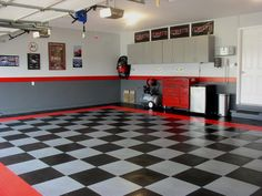 Floor and paint for garage
