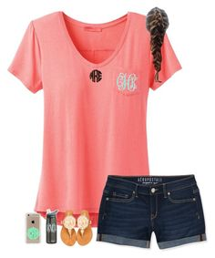 """""""Monogram Contest"""" by liblu13 ❤ liked on Polyvore featuring prAna, Aéropostale, WALL and Speck"""