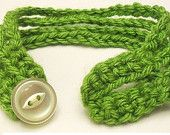 Multi-Strand Crochet Bracelet Pattern PDF, Original Pattern