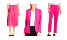 Pantone Seasonal Color | Office Attire | What to Wear to Work | Pink Yarrow | 9-5 Chic | Dressing for Work