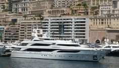 The luxury yacht Lionheart, owned by billionaire Phillip Greene