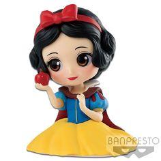 Disney Character Q posket petit -Ariel・Jasmine・Snow White-(C:Snow White) Tiana Disney, Aurora Disney, Disney Pop, Cinderella Disney, Cute Disney, Disney Princess Characters, Princess Toys, Disney Princess Centerpieces, Cheshire Cat Disney