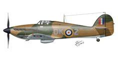 Hawker Hurricane MK.IIC – RAF – Malta, 1942