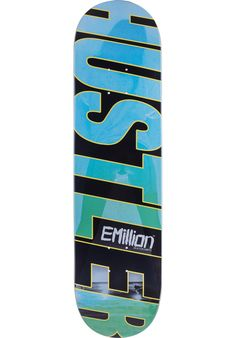 EMillion Hustler - titus-shop.com  #Deck #Skateboard #titus #titusskateshop