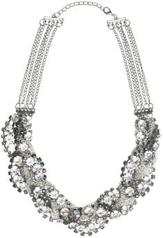 Silver Statement Necklace   modemusthaves.nl