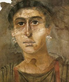 ANcient Roman portraits found in Egypt