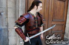 [Shaktar armor] Celtic and tribal style leather armor.