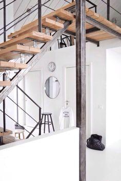 Escadametal timber frames