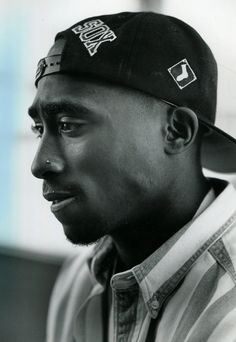 Tupac - on the set of Poetic Justice