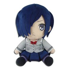 Great Eastern Entertainment Tokyo Ghoul-Touka Collectible Plush Toy: Touch from the thrilling anime series, Tokyo ghoul is now available as a cuddly plush! measures made by Great Eastern Entertainment Tokyo Ghoul, No Sora, Anime Crafts, Sitting Poses, Anime Figures, Toys For Girls, Plushies, Manga Anime, Chibi