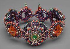 Super classy secondary color palette in Laura McCabe's Modern Medieval Bracelet