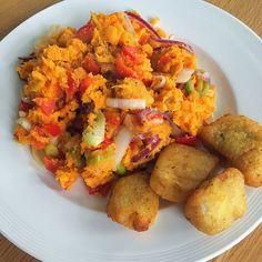 ❤️ Zoete aardappel stamppot met paprika