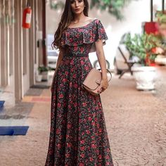 Boho style, boho chic fashion, bohemian outfit, hippie trend is part of Dresses - Long Gown Dress, Saree Dress, Dress Skirt, Long Maxi Dresses, Modest Fashion, Boho Fashion, Fashion Dresses, Fashion Styles, Trendy Dresses