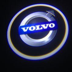Volvo V70 logo light