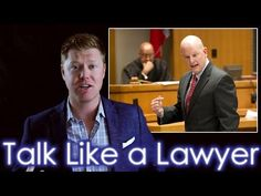 How to Speak like a Veteran Lawyer in 11 minutes - YouTube