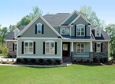 Plan W40413DB: Photo Gallery, Corner Lot, Southern, French Country, European House Plans & Home Designs