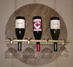 A Wine Rack with glass storage (first posted prior to Steve Ramsey posing his :) ) Wine Rack, Charity, Household, Storage, Glass, Furniture, Home Decor, Purse Storage, Homemade Home Decor