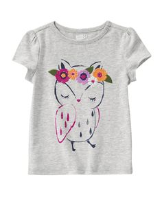 Owl Tee at Crazy 8 (Crazy 8 6m-5y)