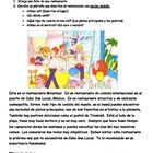 El restaurante - writing activity Packet includes 1. Restaurant picture with essay example in Spanish 2. Activity for students to draw their own restaurant and write about it follow...