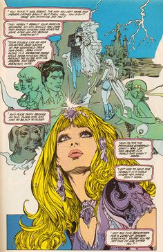 Today I present the work of Esteban Maroto. Born in Madrid in Esteban Maroto started out his career in the early working und. Comic Book Artists, Comic Book Characters, Comic Artist, Comic Books Art, Comic Style Art, Comic Styles, Bd Comics, Horror Comics, Jordi Bernet