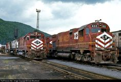 RailPictures.Net Photo: Lehigh Valley Alco C628 at Pittston, Pennsylvania by Dale Woodland