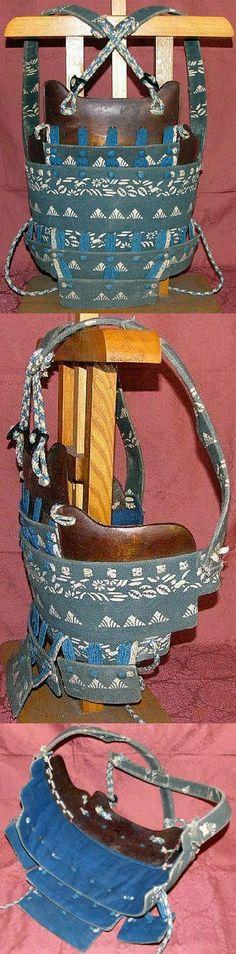 Tsutsumi / tsuzumi hara-ate dou, late Edo period.