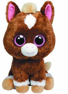 """Amazon.com: Ty Beanie Boos Dakota Horse 10"""" Plush: Toys & Games"""