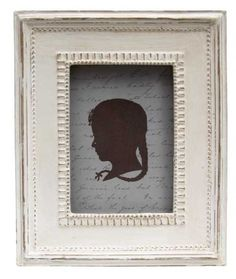 Rustic Looking Frilled Edge Photo Frame