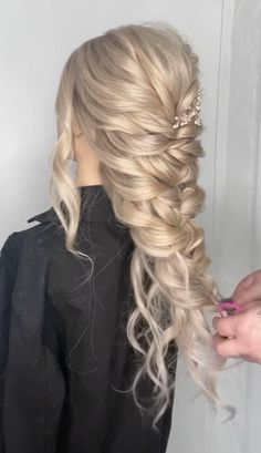 Hairdo For Long Hair, Easy Hairstyles For Long Hair, Boho Hairstyles, Bridesmaid Hairstyles, Boho Bridesmaid Hair, Bridesmaid Hair Tutorial, Bridal Hair Tutorial, Wedding Hairstyles Tutorial, Homecoming Hairstyles