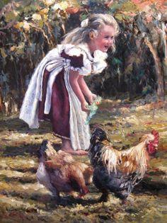 Ina Van Schallwyk  Paintings of Children | Lightworkers.org