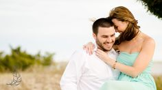 fort fisher engagement : jessica + andrew