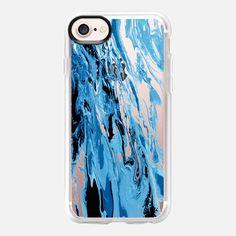 """WITH THE TIDES, BLUE"" By Artist Julia Di Sano, Ebi Emporium on @Casetify #Casetify #EbiEmporium #CasetifyArtist #iphonecase #iphonecover #iphone6 #iphone6s #iphone7 #iphone7plus #tech #samsung #case #clearcase #phonecase #transparent #summer #beach #blue #royalblue #ocean #waves #splash #beach #coastal #nautical #chic #boho #musthave #trendy #2017 #style"