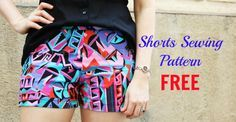 Shorts Sewing Pattern FREE - My Handmade Space