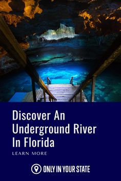 This unique underground river in Florida is warm all year long and is one of the best places for snorkeling and scuba diving. It is beautiful, mysterious, and an adventure! This hidden gem belongs on your travel bucket list. Hidden Beach, Swimming Holes, Sunshine State, Snorkeling, Scuba Diving, Mysterious, Places To See, The Good Place, Travel Destinations