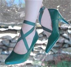 Girl Scout Green Shoes!