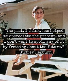 Exactly what I've been thinking lately. Thanks for the reminder, Audrey.