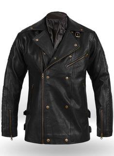 de073bbebf4c MakeYourOwnJeans®  Made To Measure Custom Jeans For Men   Women Leather  Biker Jacket - Authentic Leather Biker Jacket style Luxurious premium  design.