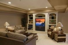 coffered ceiling to hide duct work in basement - Google Search
