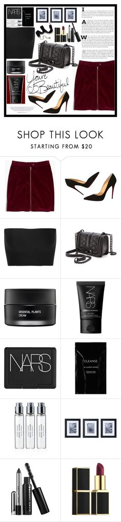 """Untitled #1832"" by mihai-theodora ❤ liked on Polyvore featuring Madewell, Christian Louboutin, Calvin Klein Collection, Rebecca Minkoff, Koh Gen Do, NARS Cosmetics, Cleanse by Lauren Napier, Byredo, Mikasa and Marc Jacobs"