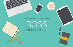 You've always wanted to work for yourself, but you're not quite sure how to make it happen.   Sound familiar? If so, keep reading.   This checklist will walk you through the process of becoming your own boss.   Becoming Your Own Boss: A Bplans Checklist http://articles.bplans.com/becoming-your-own-boss-a-bplans-checklist/?utm_campaign=coschedule&utm_source=pinterest&utm_medium=Bplans&utm_content=Becoming%20Your%20Own%20Boss%3A%20A%20Bplans%20Checklist