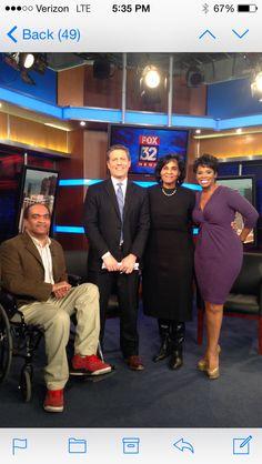 Fox TV set, Chicago