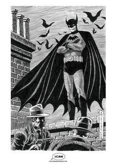 The Batman by Enrique Alcatena