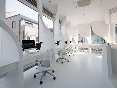 ippin dental laboratory by takato tamagami in tokyo  - designboom | architecture & design magazine