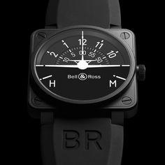 BR 01 Turn Coordinator #Black, #Luxury, #Man, #Premium, #Resistant, #StainlessSteel, #Watch
