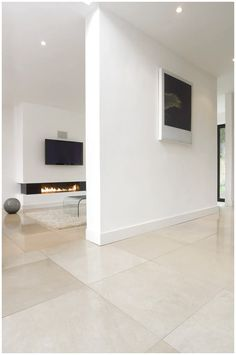 Alternative to going grey. Papyrus Honed Limestone floor tiles from Mandarin Stone (UK). click now for more info. Stone Tile Flooring, Travertine Floors, Modern Flooring, Kitchen Flooring, Flooring Ideas, Stone Tiles, Vinyl Flooring, Penny Flooring, White Flooring