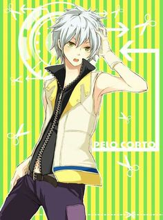 Riku. he looks younger, and his hair is so short.