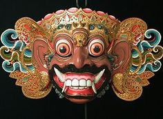indonesian masks - Google Search