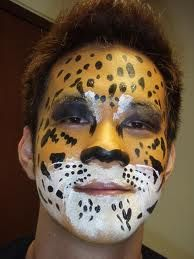 animal face paints - Google Search