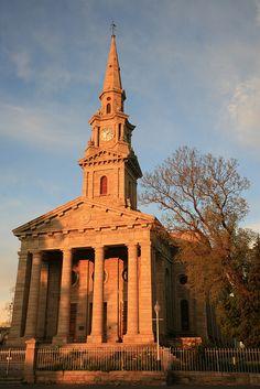 DR Church, Cradock in South Africa- it's twin church being St Martin in the Field, Trafalgar, London.