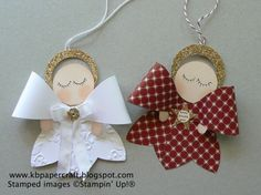 Gift Bow Angels